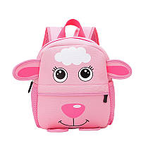 Детский розовый рюкзак Овечка (Sheep), фото 1