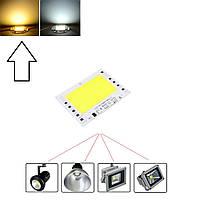 Теплая белая светодиодная матрица с драйвером JT-100-133#93-4B72C 100Вт 9500лм 220В