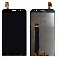 Дисплей для Asus ZenFone Go (ZB551KL) с тачскрином черный Оригинал