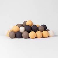 """Тайская LED-гирлянда """"Clay"""" (35 шариков), фото 1"""