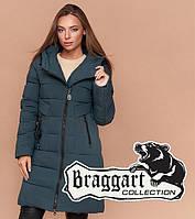 Зимняя куртка женская длинная Braggart Simply 25035H