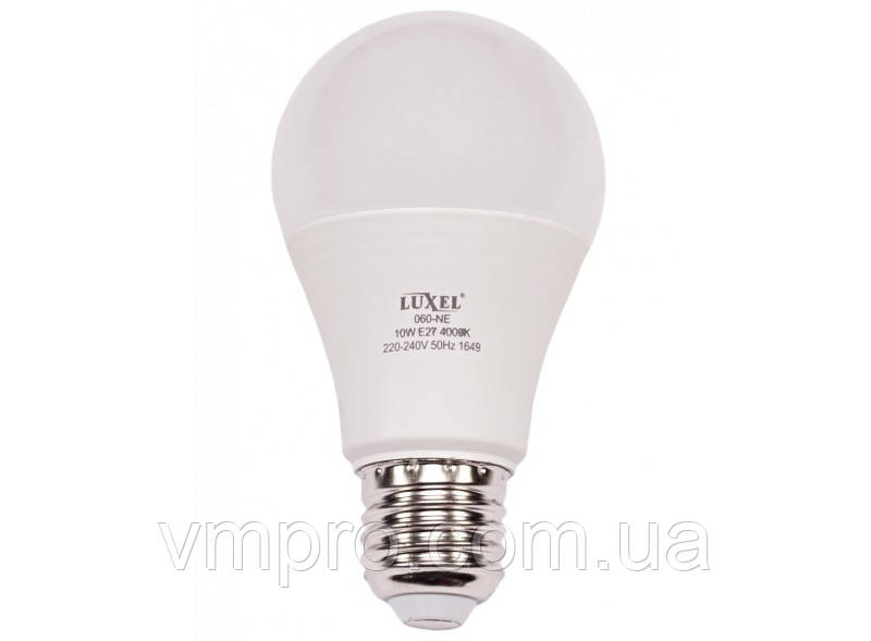 Світлодіодна лампа Luxel A60 7W, E27 (ECO 063-NE 7W)