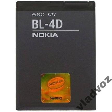 Аккумулятор Nokia BL-4D E7, N8, N97, E5 AAA, фото 2