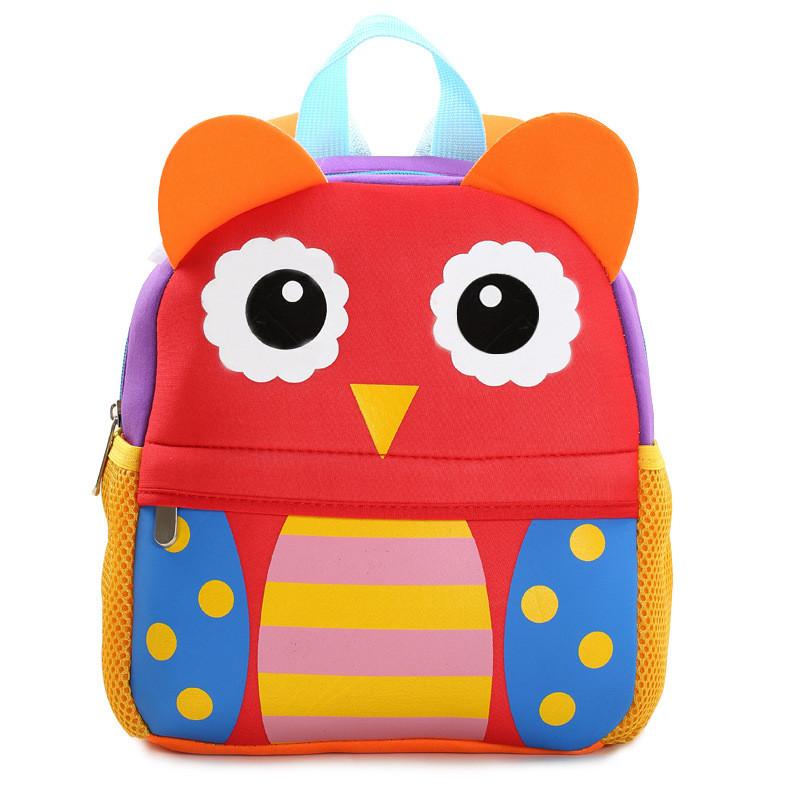 Яркий детский рюкзак Сова