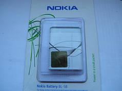 Аккумулятор bl 5b 5220, 5200, 5500, n80 AAA