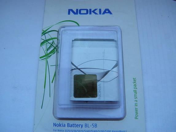Аккумулятор bl 5b 5220, 5200, 5500, n80 AAA, фото 2