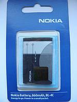 Аккумулятор bl 4c для nokia 6300, 6131, 1202, x2 AAA
