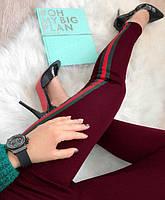 Женские Стильные брюки (леггинсы, лосины ) с омпасами (гучи), фото 1
