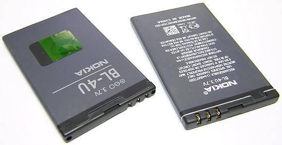 Аккумулятор для nokia bl-4u 3120с 5530 8800 e66 AAA, фото 2