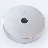 Блин для штанги или гантелей 5 кг металлический (диски утяжелители, млинець металевий)