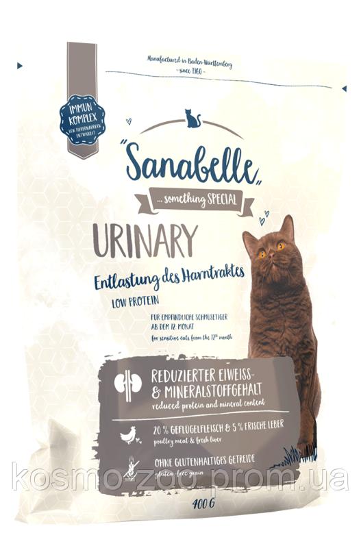 Сухой корм Sanabelle Urinary для кошек с проблемами мочевыделительной системы, 10 кг