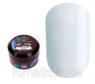 Komilfo  Gel Jelly Bright White Violet, 15 г