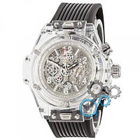 Hublot Big Bang Quartz Unico Sapphire Black-White