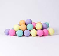 "Тайская LED-гирлянда ""Ice Cream"" (20 шариков) на батарейках, фото 1"