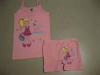 Детский комплект с шортиками для девочки 6-10  производство Турция -Biyoteks
