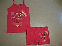 Детский комплект с шортиками для девочки 2-10  производство Турция -Biyoteks