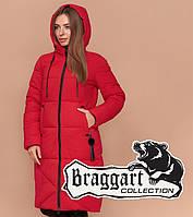 Braggart Simply 1936   Женская куртка зимняя красная