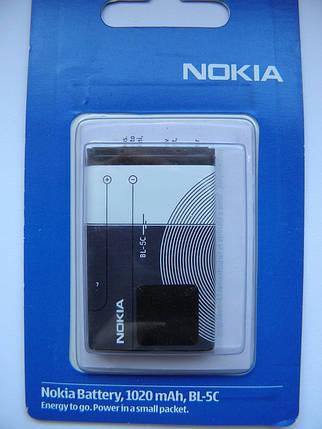 Аккумулятор для nokia bl 5c 1020mah AAA, фото 2