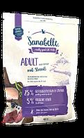Сухой корм Sanabelle Adult с мясом страуса для домашних кошек, 10 кг