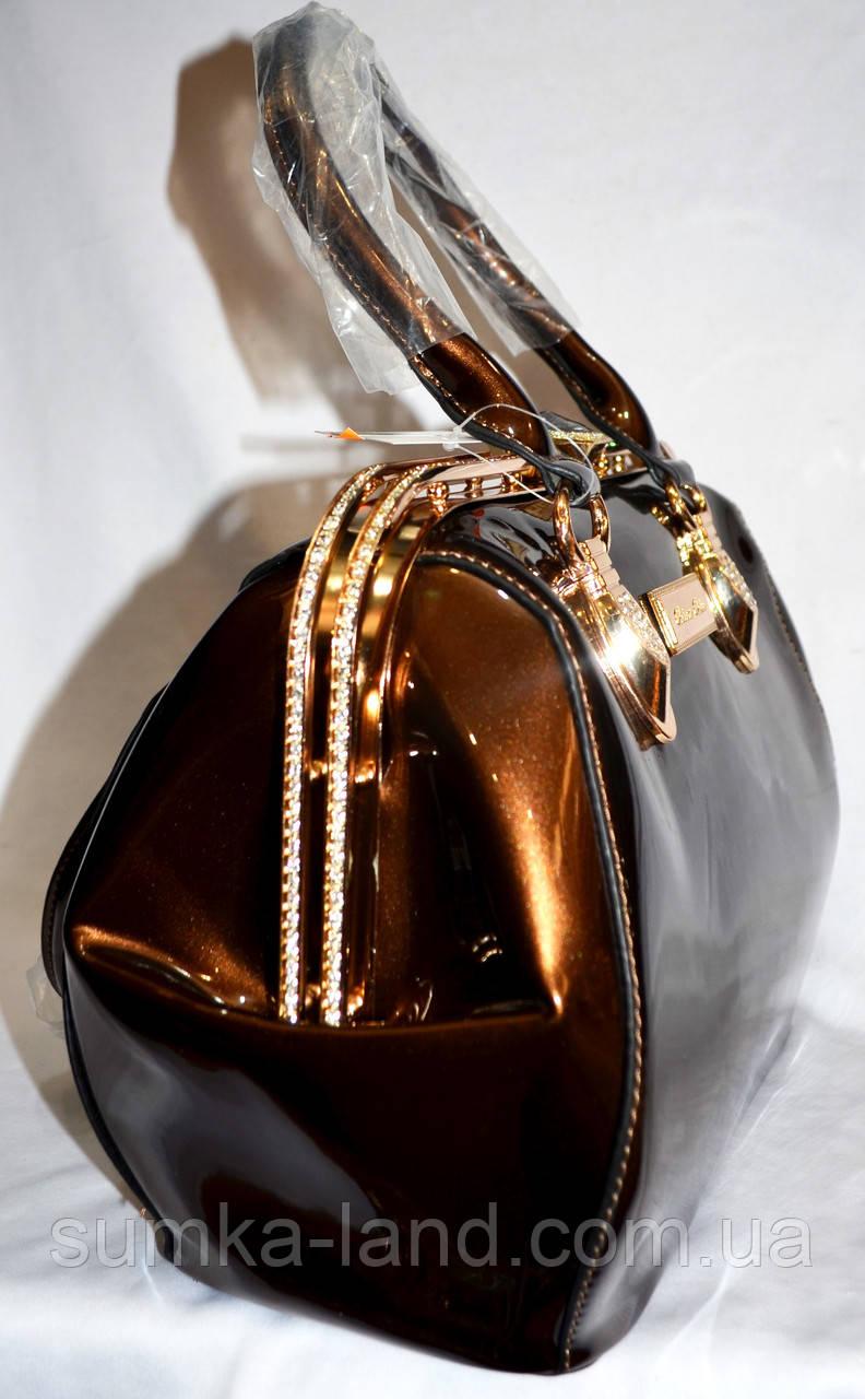 b18d108a34ca Женская пудровая лаковая сумка Премиум класса 25 22 см  продажа ...