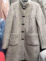 Пальто женское теплое букле