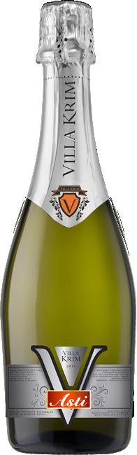 Вино сладкое белое игристое Villa Krim SALUTE ASTI 0.75л