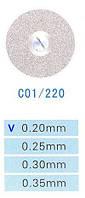 C01/220/0.20 диски алм.двухст.