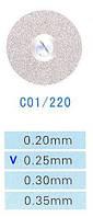 C01/220/0.25 диски алм.двухст.
