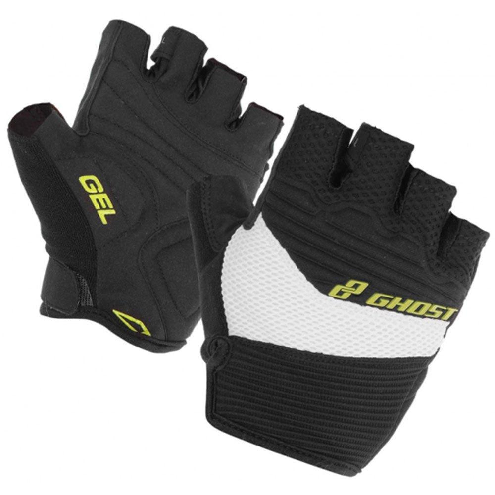 Велорукавиці GHOST XXL Gloves short 2014 чорний/білий (14133)