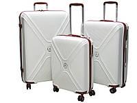 Набор чемоданов из полипропилена 3 шт. Snowball 62608 (Франция)