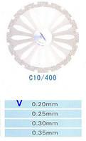 C10/400/0.20 диски алм.двухст.