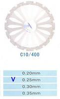 C10/400/0.25 диски алм.двухст.