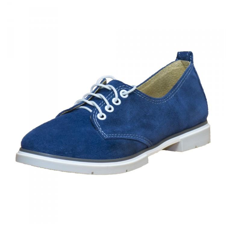 Туфли женские замшевые 388