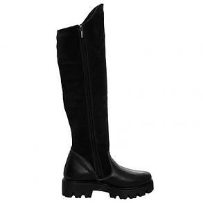 Сапоги женские замшевые с кожаным носком 113, фото 2