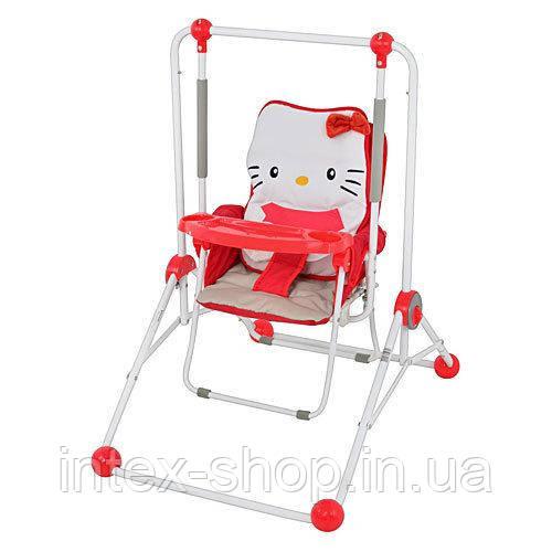 Качели Bambi NA 02 B Red Kitty