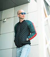 Бомбер-куртка GUCCI  с наполнителем силикон