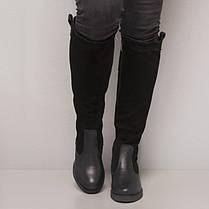 Сапоги замшевые с кожаным низом 861-30, фото 2