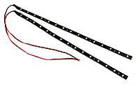 LED полоски SMD красный и синий 30см