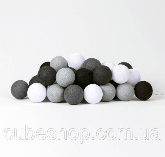 """Тайская гирлянда """"Antra"""" (20 шариков) петля"""