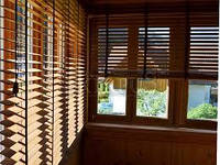 Деревянные и бамбуковые жалюзи, фото 1
