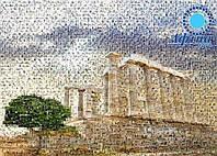 Логотип из фотографий в виде фотомозаики, фото 1
