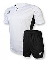 Футбольная форма Europaw 005 бело-черная