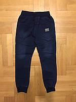 Брюки под джинс для мальчиков на флисе оптом, F&D, 8-16 лет., Арт. 5463, фото 5