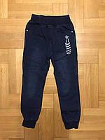 Брюки под джинс для мальчиков на флисе оптом, F&D, 8-16 лет., Арт. 5463, фото 3