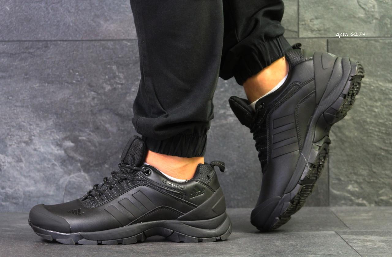 Кроссовки в стиле Adidas Climaproof (черные) термо кроссовки код товара 6279
