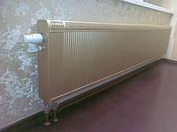 Радиатор медно-алюминиевый. Возможность заказа в любом цвете, на выбор. Медно-алюминиевый радиатор особенно рекомендован в системах с конденсационными газовыми котлами.Монтаж, замена радиаторов любой сложности. Опыт есть!
