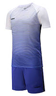 Футбольная форма Europaw 013 бело-синяя