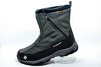 Зимние мужские сапоги в стиле Columbia Bugaboot Slip, С мехом