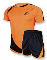 Футбольная форма Europaw 002 оранжево-черная [S]
