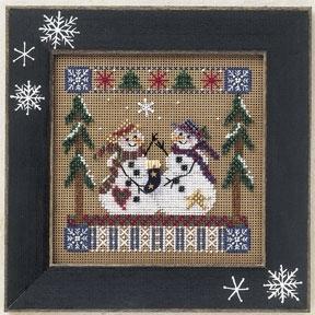 Набор для вышивки Mill Hill Frosty Friends (2001)